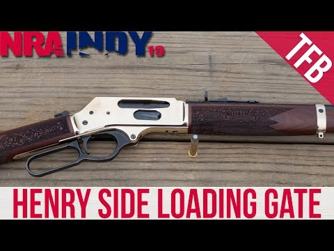 [NRA 2019] Henry Side Loading Gate - Cowboy Carbine