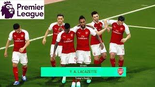 Newcastle vs Arsenal | Premier League 15 September 2018 Gameplay