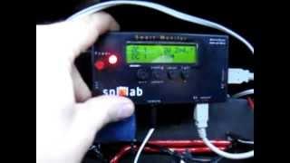 Замер мощности, тока и напряжения,через Spl-Lab Smart Monitor.