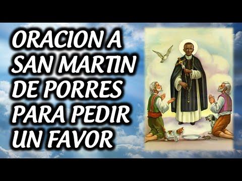 ORACION A SAN MARTIN DE PORRES PARA PEDIR UN FAVOR