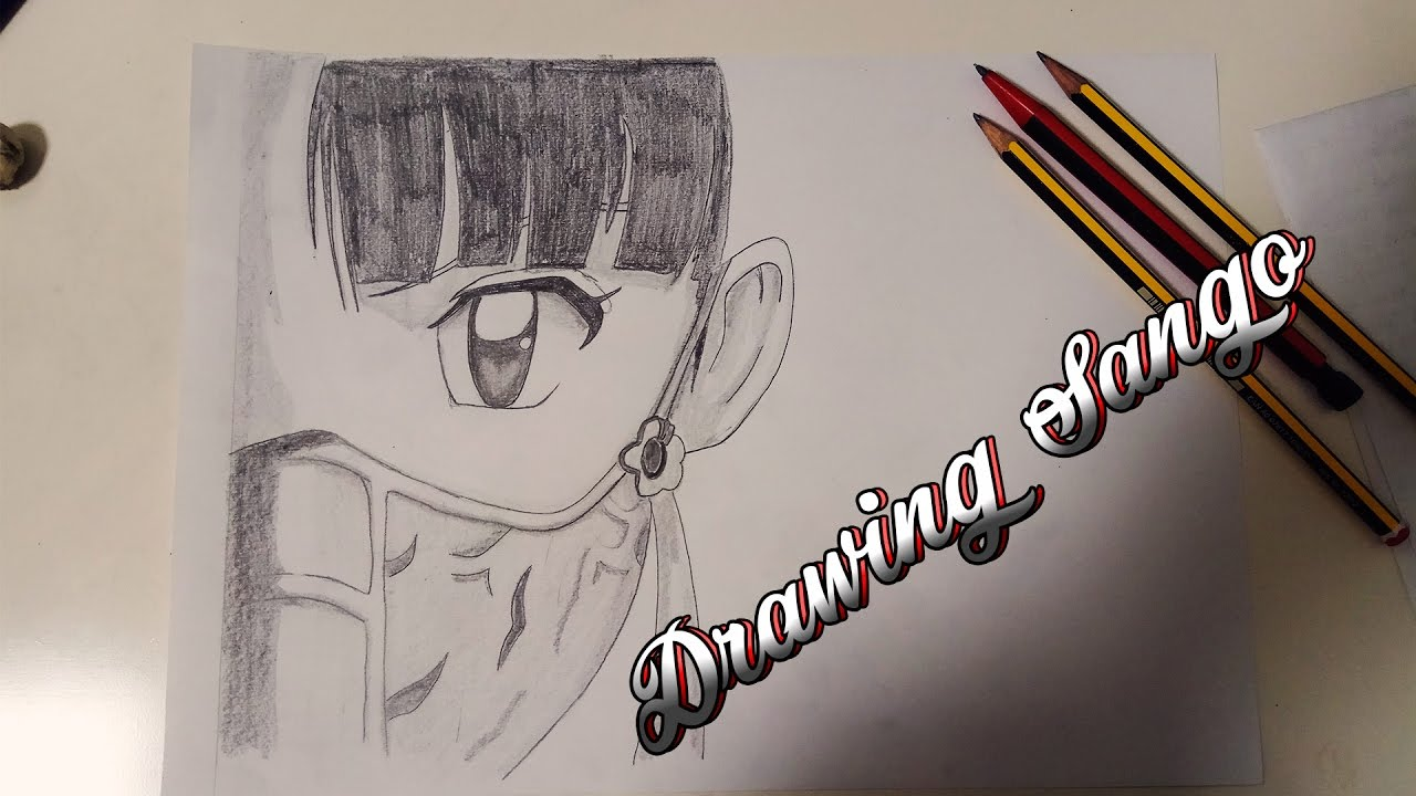 By step drawing tutorial on how to draw kagome higurashi from inuyasha - How To Draw Sango Como Dibujar Sango Dibujando A Sango Inuyasha Kirarts Drawing