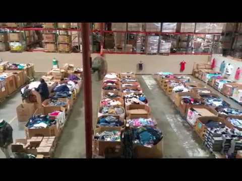 warehouse, los angeles, bodega, al mayoreo, wholesale, pallets, paletas,  paletas de ropa, cajas, box