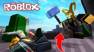 NOI BECOME LOKI AVENGERS!! SUPERE SIMULATOR ROBLOX 💙💚💛 BE BE BE BE BE BE BE EDU VITA And ADRI 😍
