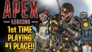 1st PLACE On My First Run! Not Just A Point & Shoot, Major Skills Required & So Fun! | Apex Legends