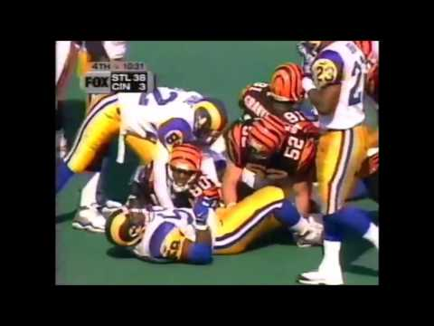 1999 Week 4 Rams vs Bengals Highlights