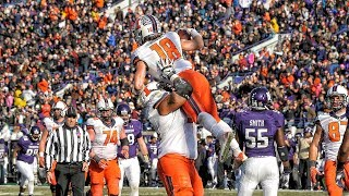 Illinois Football Highlights at Northwestern 11/29/14