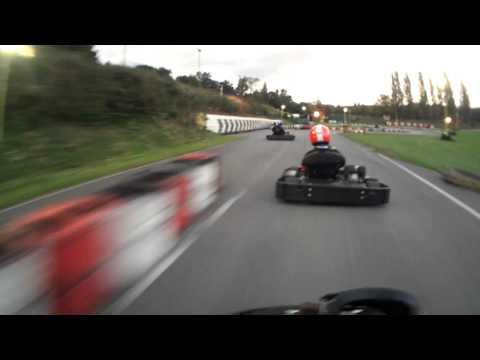 Surbiton Raceway Karting: Iron man GP Qualifying Dave Hayward