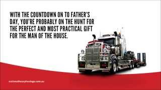 Top 5 Truck Driver's Father's Day Gifts From National Heavy Haulage