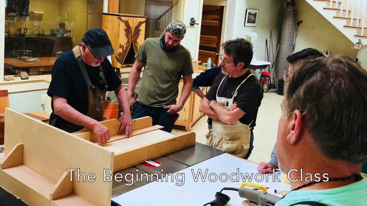 Beginning Woodwork Class At The School Of Woodwork Youtube