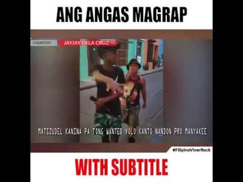 Ang angas mag rap! with subtitles HAHAHA Clip by Jayjay Delacruz