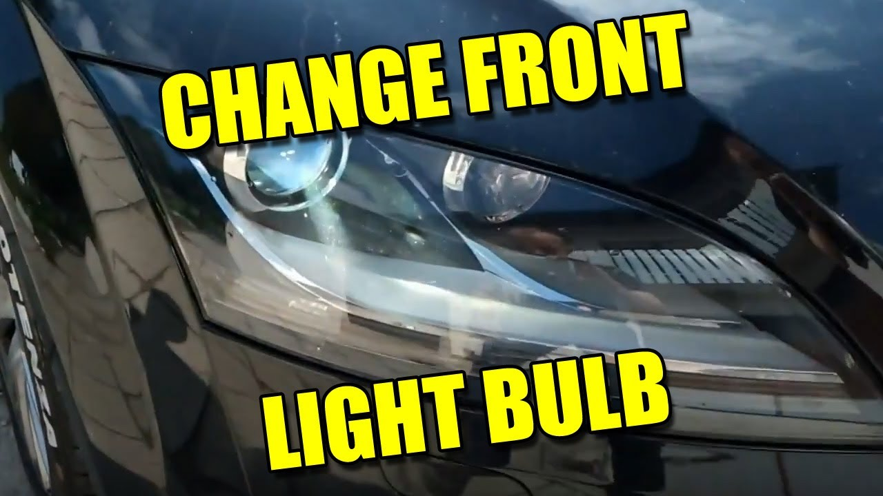 How To Remove Headlight And Change Light Bulb On Audi Tt
