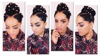 የጸጉር አያያዝ 2 / Easy Bun Hairstyle / Selamawit Seyoum