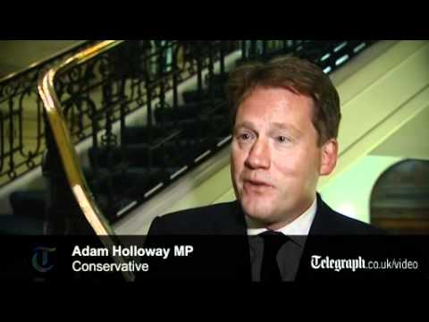 Conservative MP Adam Holloway resigns over Europe referendum