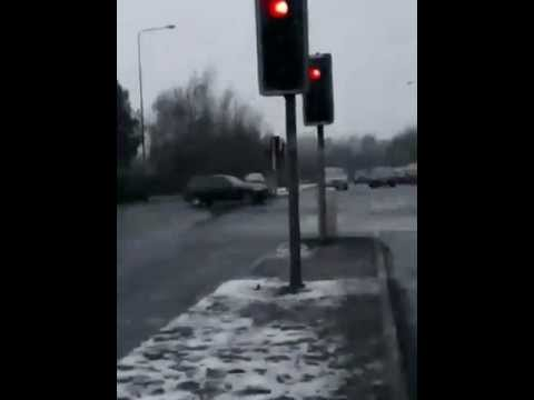 Snow In Preston Lancashire
