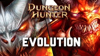 Evolution of Dungeon Hunter on Android - iOS (2009 - 2018)
