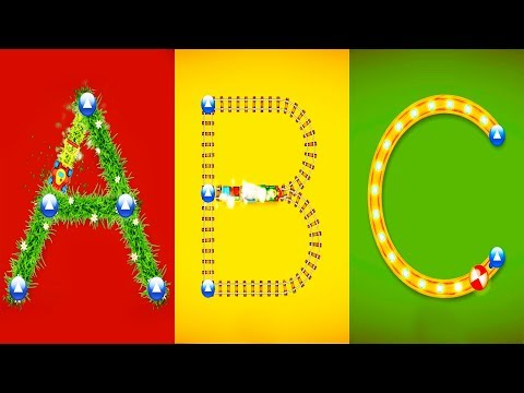 LEARNING ENGLISH LETTERS with a Letter School game for preschoolers