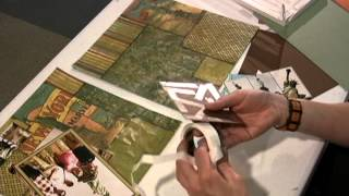High-Speed Video: Creation of a Scrapbook Layout from start to finish