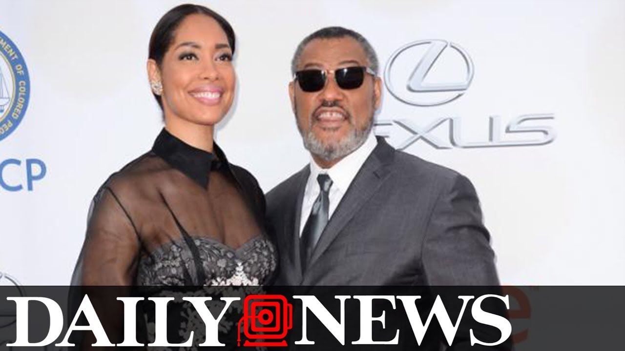 Laurence Fishburne and Gina Torres split last year and nobody noticed