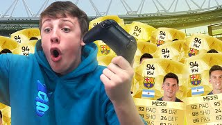 SELLING MESSI FOR 300K WAGER!! - FIFA 16