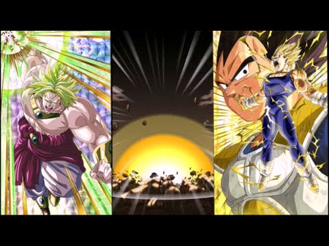 Dokkan Battle Majin Vegeta And Broly Wreck World Tournament Youtube