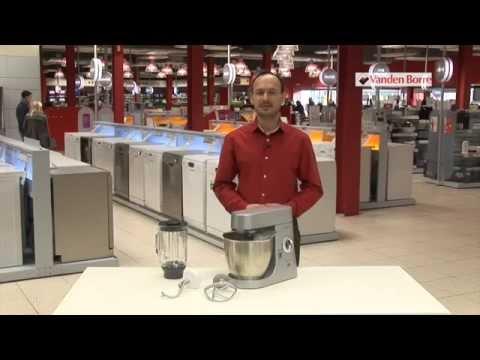 kenwood kmm770 major premier - robot de cuisine - notre vidéo