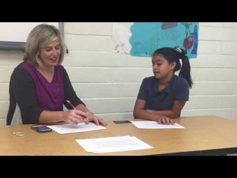 Oral Reading Fluency - 4th Grade Example