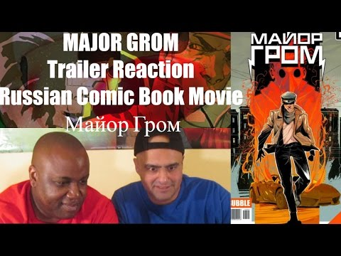 Major Grom Trailer (2016) Russian Comic Book Movie (ENG SUBS) | Майор Гром Trailer