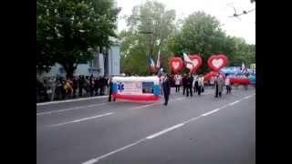 Симферополь Парад 1 мая 2014(Марш 6я гор. больница., 2014-05-01T16:16:12.000Z)