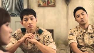 송혜교&김지원, 삼계탕 먹다 과거 들켜...  태양의 후예 12회