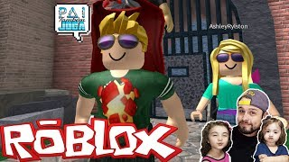 ROBLOX-the BEST SHERIFFS [MURDER] PLAYING with the subscribers! (DAD ALSO PLAYS)