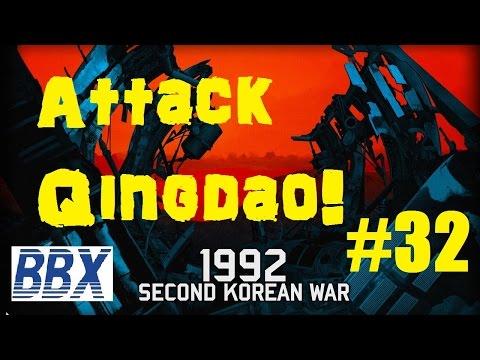 Wargame Red Dragon Campaign Playthrough 2nd Korean War #32 Attack Qingdao!