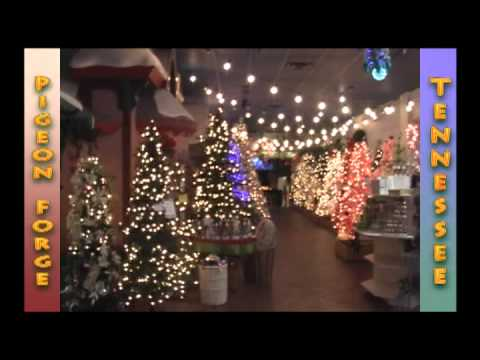 The Incredible Christmas Place Pigeon Forge Tennessee part 1 - YouTube