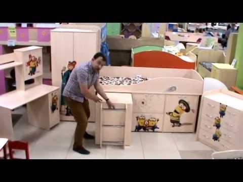 """Кровать-чердак индиго нетривиальное и практичное решение для детской комнаты. Ребенку понравится возможность спать на """"втором этаже"""", родителям экономия пространства. Нейтральная цветовая гамма прекрасно освежит интерьер. Эту кровать-чердак можно дополнить другими элементами из."""