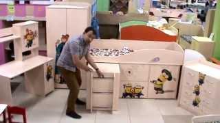 вся детская мебель в