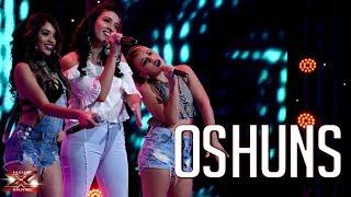Todo por el todo cantan El trío Oshuns | Eliminación | Factor X Bolivia 2018