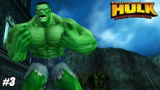 The Incredible Hulk: Ultimate Destruction - PS2 Gameplay Playthrough 1080p (PCSX2) PART 3