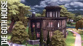 I fixed the boring Goth House // The Sims 4