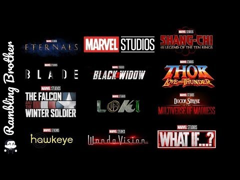 Marvel Phase 4 Thoughts - 동영상