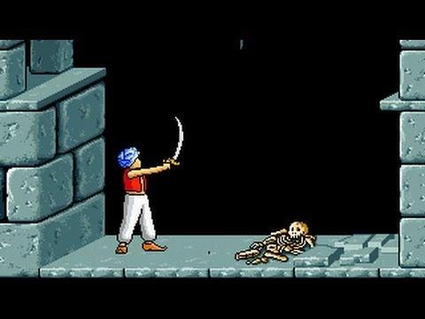 Prince of Persia (1992 Macintosh) Complete Playthrough - Old Macintosh Game