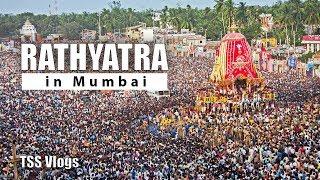 RATH YATRA IN MUMBAI | Lord Jagannath Rathayatra 2018 | TSS Vlogs Puri Jagannath