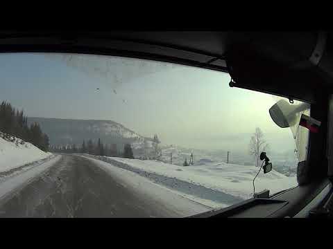 Дорога на Усть-Кут последний рывок и долгожданная выгрузка(Братск-Усть-Кут)