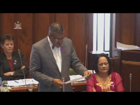 Fijian Minister for Trade informs on the Red Sea Colour investigation at Nasarawaqa and other waters