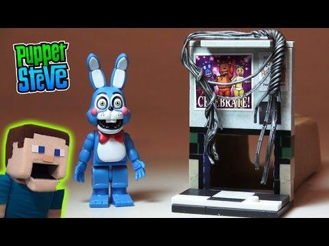 d097250b50c Смотреть видео Five Nights at Freddy s fnaf McFarlane toys lego TOY BONNIE  Left Air Vent construction set unboxing онлайн