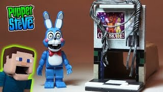 Five Nights at Freddy's fnaf McFarlane toys lego TOY BONNIE Left Air Vent construction set unboxing