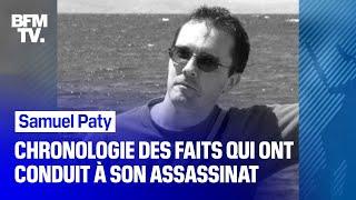 Samuel Paty: chronologie des faits qui ont conduit à son assassinat