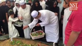 DPM Zahid's son in law Syed Alman Zain laid to rest