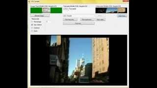 LED_Facade test2 (C# VLC VideoLan DotNet)