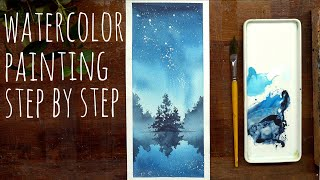 ERUDAart Tutorial 1 -Step by Step- Watercolor&Postercolor illustration