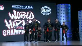 2018  World Hip Hop Dance Championship Finals - Next Junior (Japan) SILVER