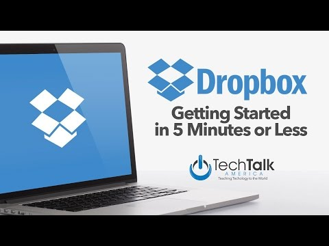 Get Started Using Dropbox in 5 Minutes or Less